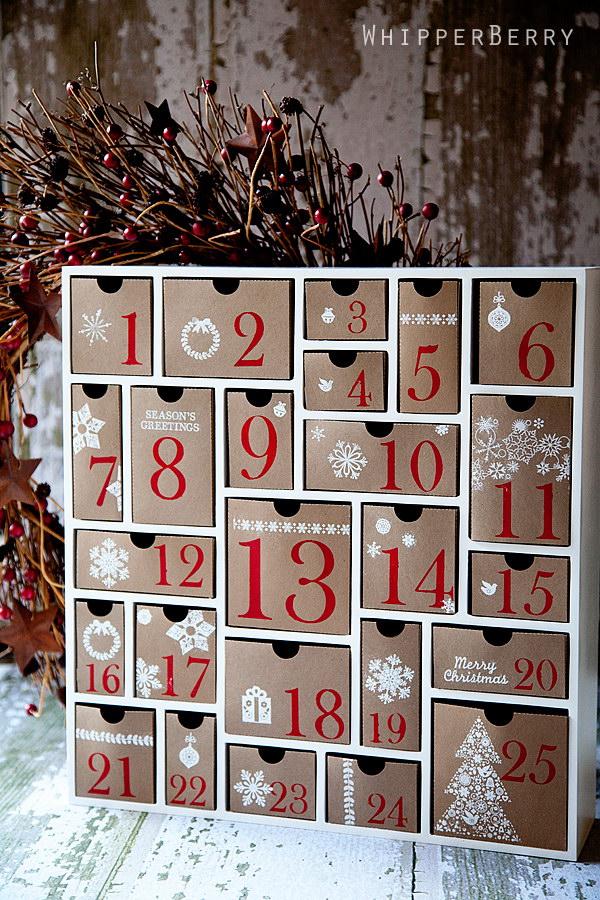 Diy Christmas Countdown Calendar Ideas Amp Tutorials 2017