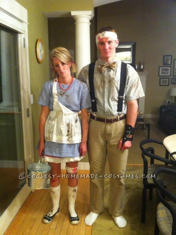 Jack and Jill After They Fell Down The Hill.