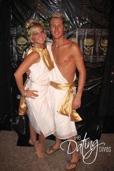 Greek Gods Of Love Couples Costume.