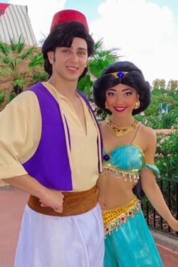 Aladdin and Jasmine Costumes.