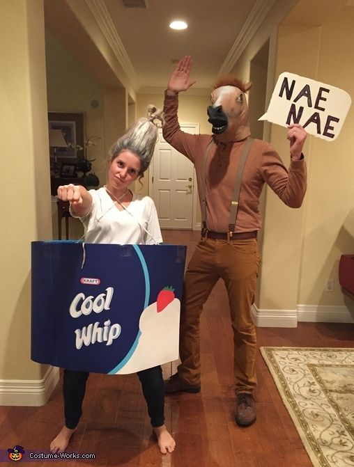 Whip and Nae Nae Costume .