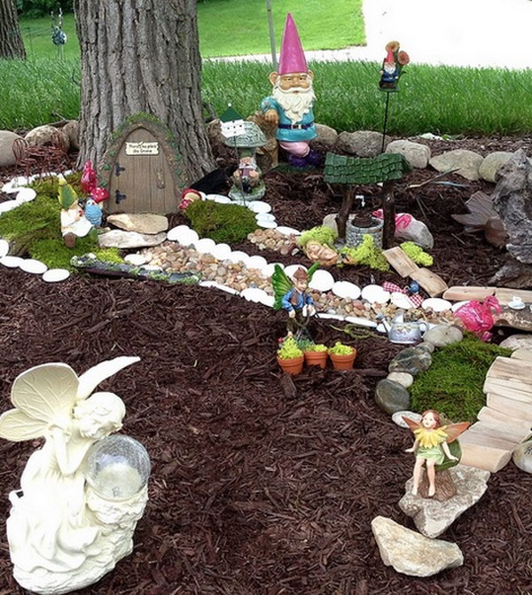 DIY Fairy Garden In Your Backyard