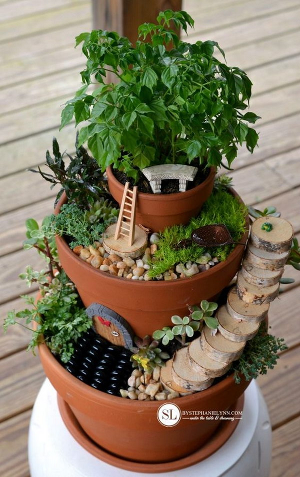 Awesome DIY Fairy Garden Ideas & Tutorials 2017