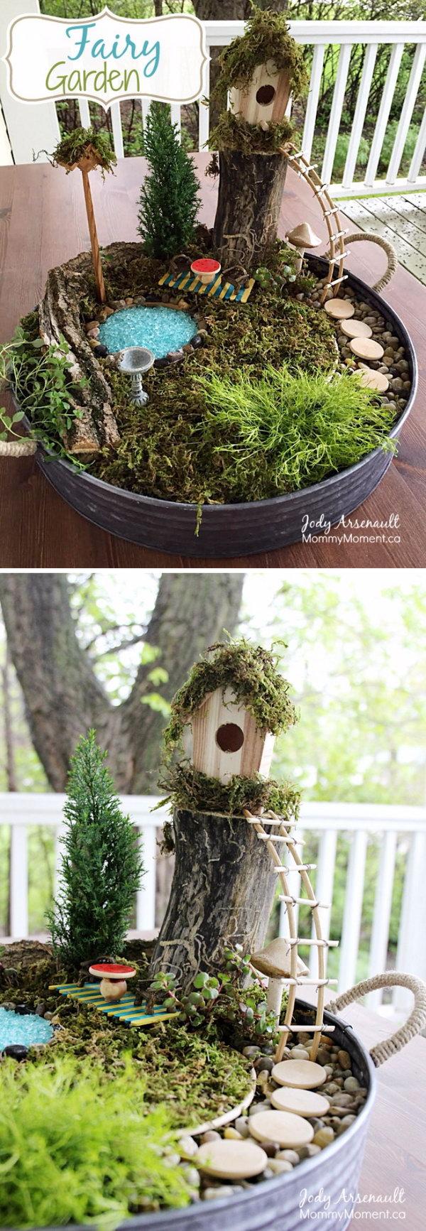 DIY Fairy Garden.