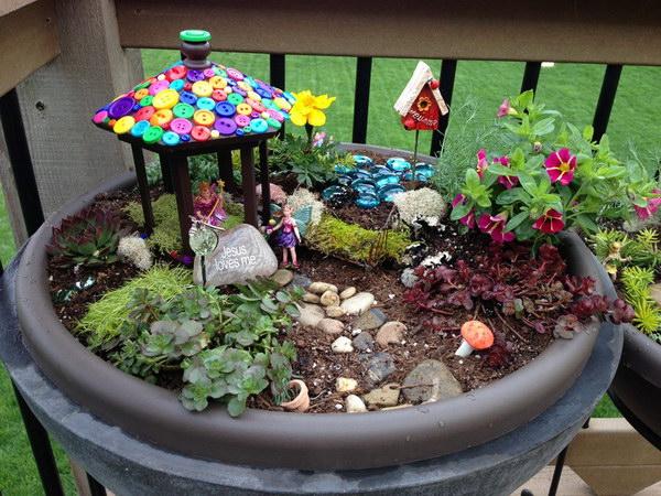Awesome Diy Fairy Garden Ideas Amp Tutorials 2017