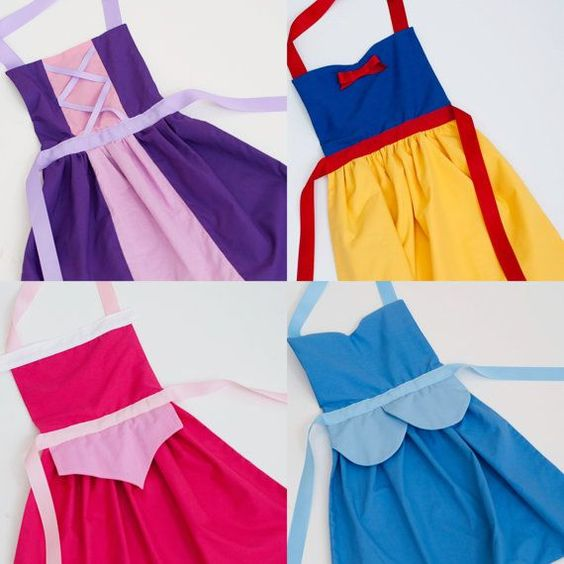 DIY Dress Up Aprons.