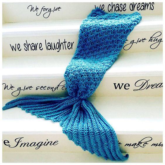 Crochet Mermaid Tail Video Tutorial.
