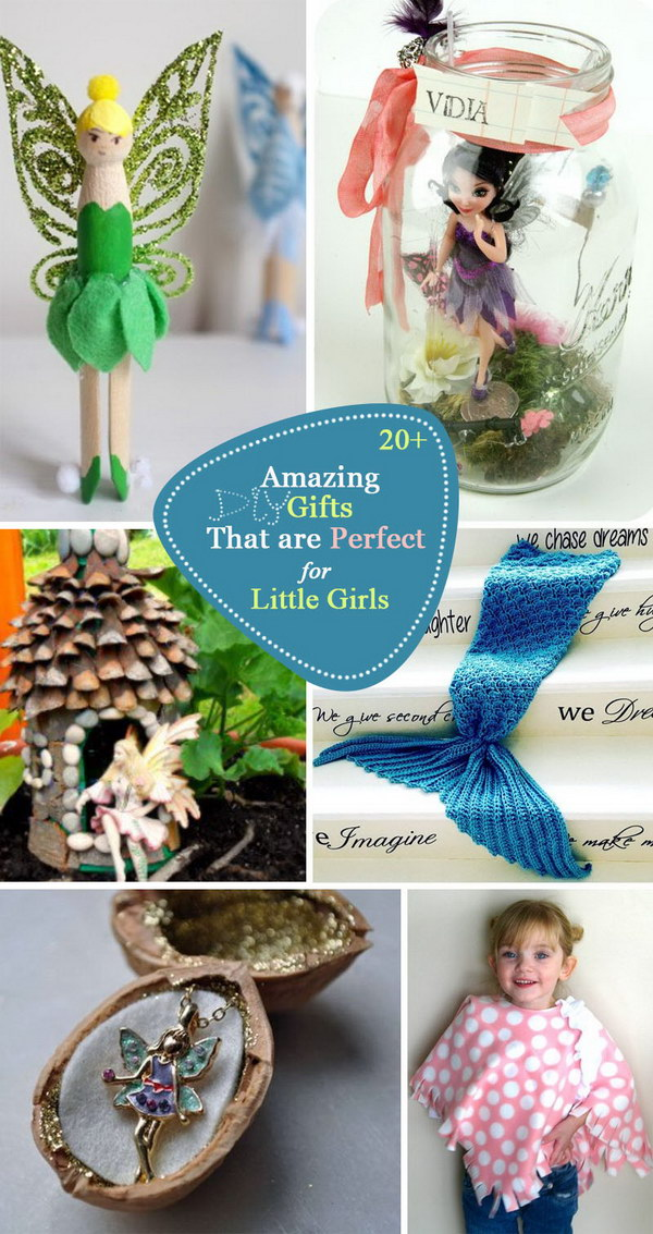 Amazing DIY Gifts That are Perfect for Little Girls.
