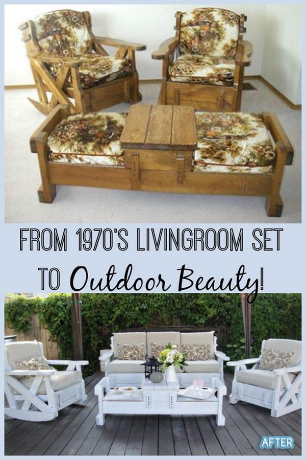 DIY 70's Set to Outdoor Beauty.