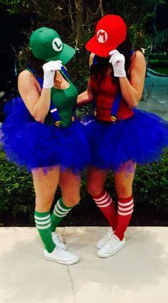 Mario and Luigi.