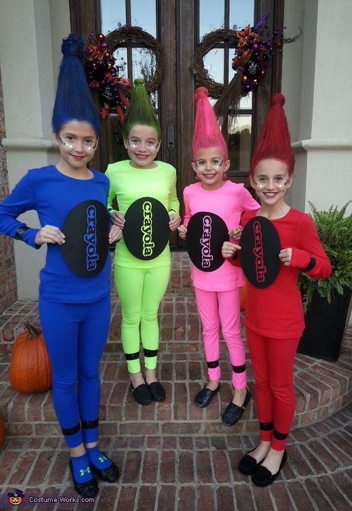 Crayon Halloween Costumes.