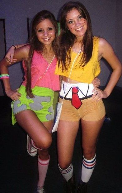 Spongebob and Patrick Best Friends Costume.