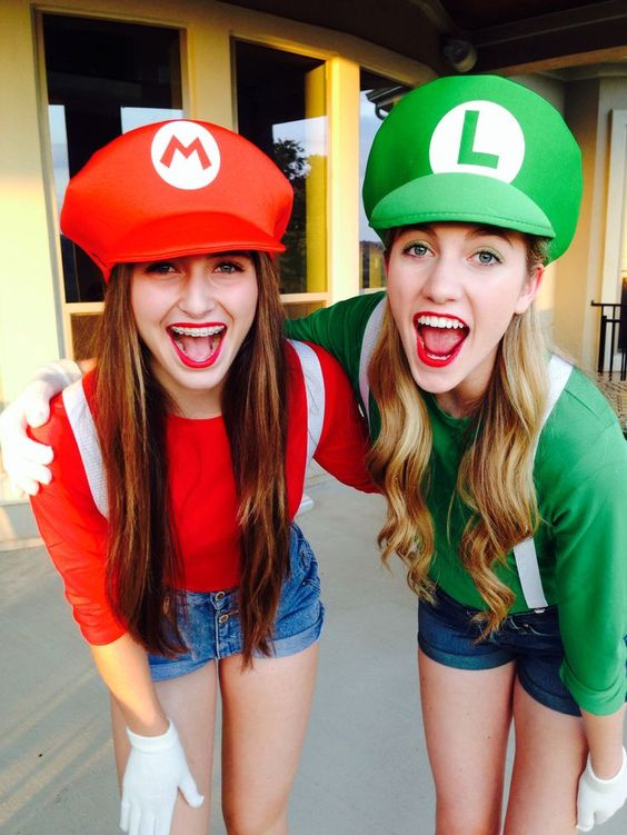 Mario and Luigi  sc 1 st  IdeaStand & 60+ Awesome Girlfriend Group Costume Ideas 2017