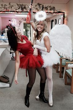 Angel and Devil Costume.