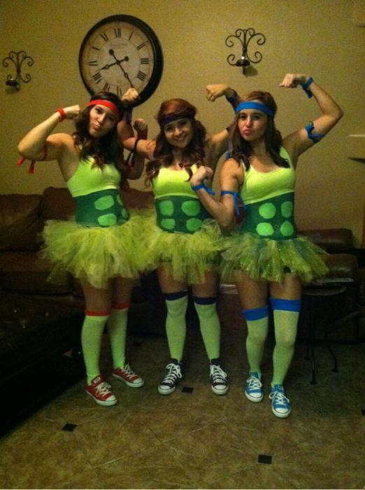 Ninja Turtle Costumes.
