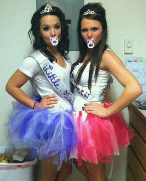 Toddlers and Tiaras Costumes  sc 1 st  IdeaStand & 60+ Awesome Girlfriend Group Costume Ideas 2017