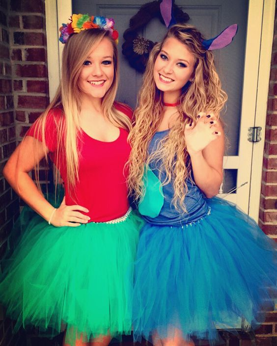 60 awesome girlfriend group costume ideas 2017 diy lilo and stitch costumes solutioingenieria Images