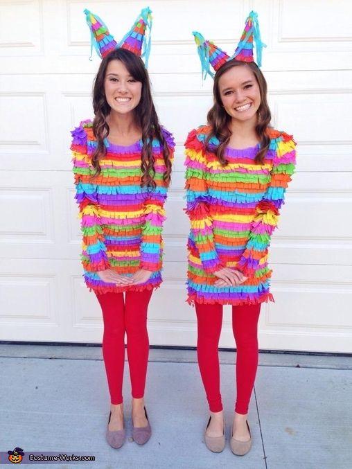 DIY Pinata Costume.