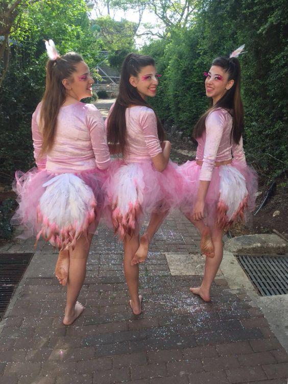 Flamingo Costume.