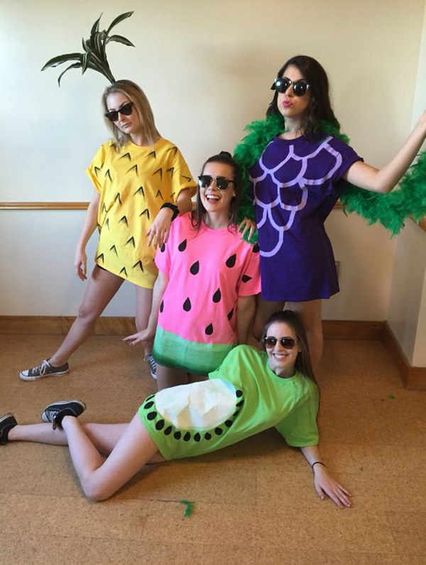 4 Person Halloween Costumes Girls.60 Awesome Girlfriend Group Costume Ideas 2017