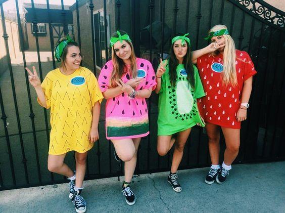 Fruit Costumes.