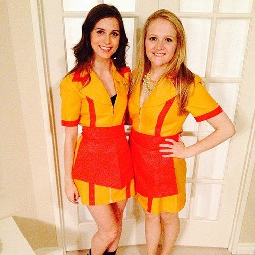 Two Broke Girls Halloween.
