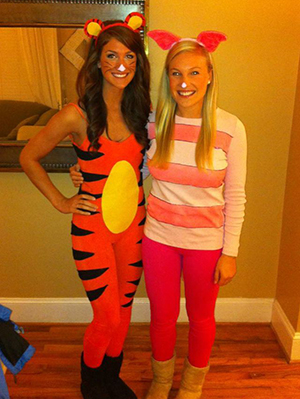 Tiger and Piglet Costume.