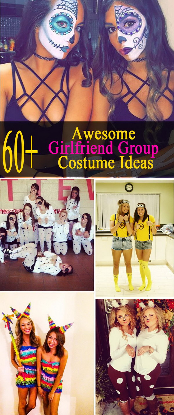 60+ Awesome Girlfriend Group Costume Ideas 2017