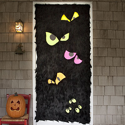 Frankenstein Door Decoration.