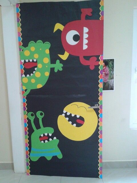 Holiday Classroom Decoration Ideas ~ Cute and fun halloween door decorating ideas