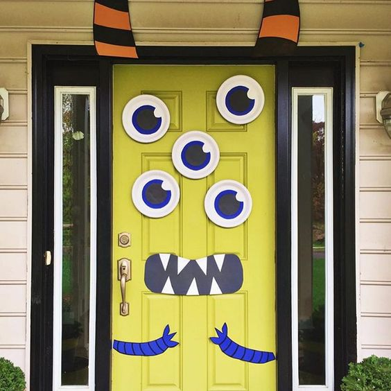 Classroom Door Decoration Images ~ Cute and fun halloween door decorating ideas