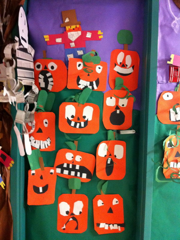 cute halloween door decoration for kids - Cute Halloween Door Decorating Ideas