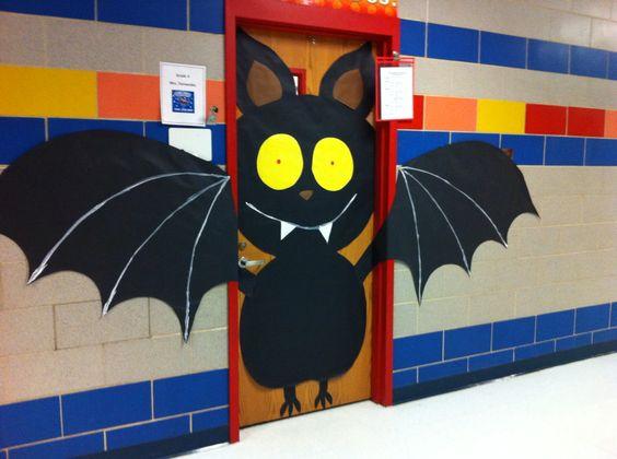Bat Door Decoration.