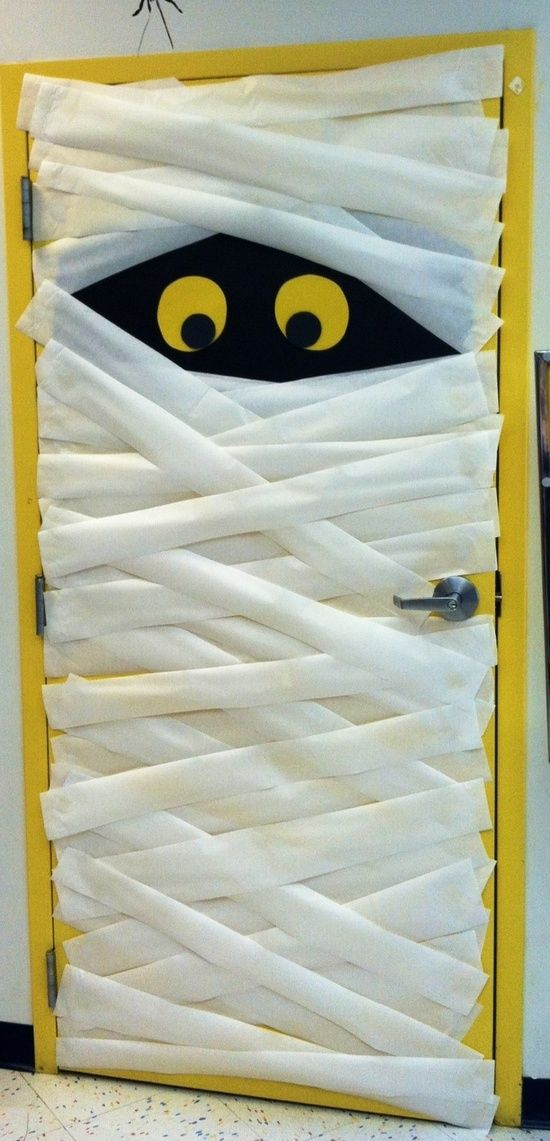 30 Cute And Fun Halloween Door Decorating Ideas 2017