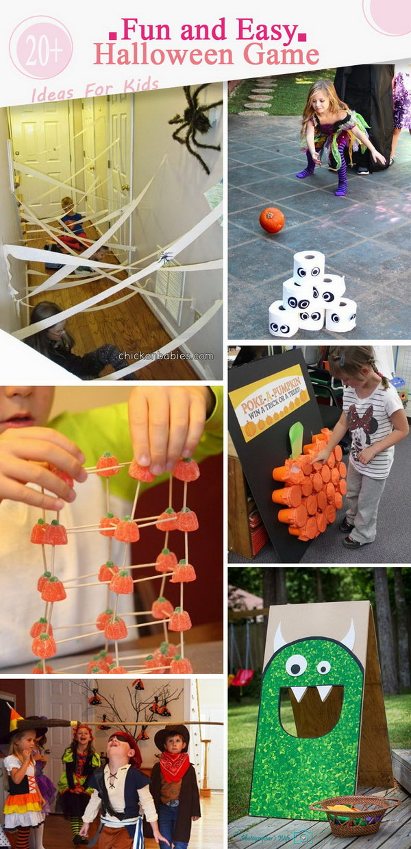 Fun and Easy Halloween Game Ideas For Kids.