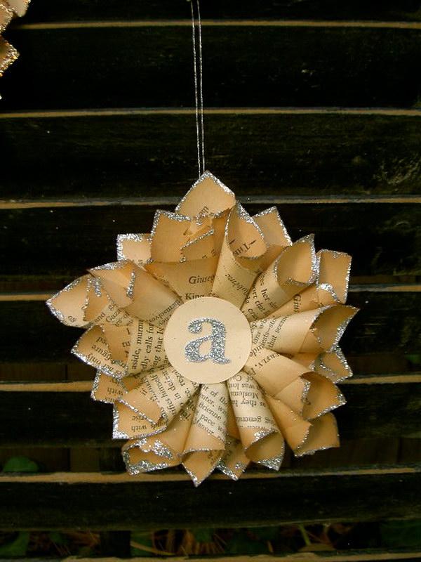 DIY Tiny Paper Star Ornaments