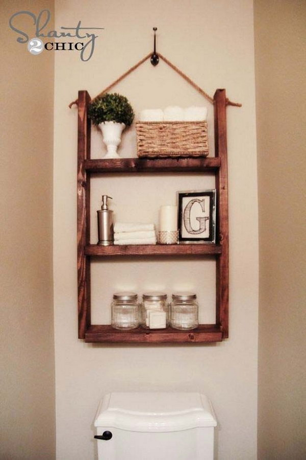Diy Floating Shelves Dollar Store