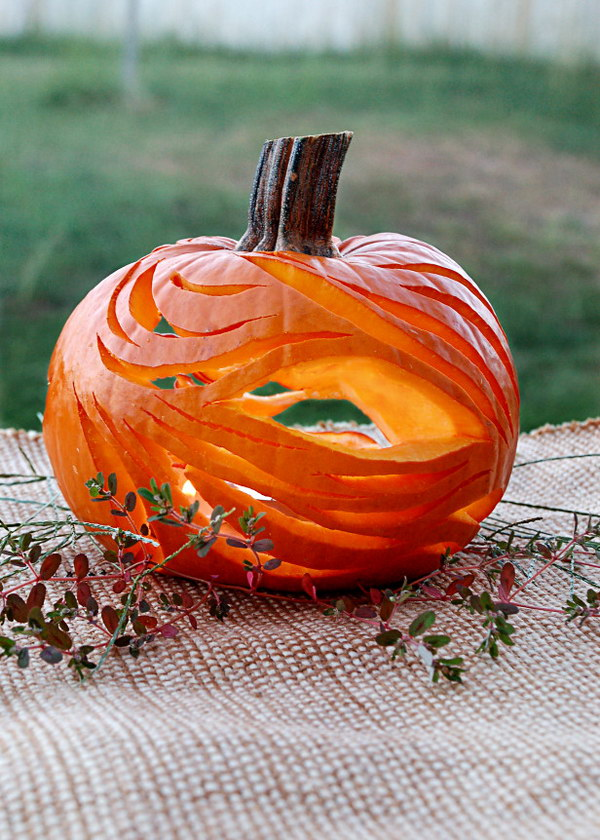 Creative Pumpkin Carving Ideas for Halloween Decorating 2017 - photo#46