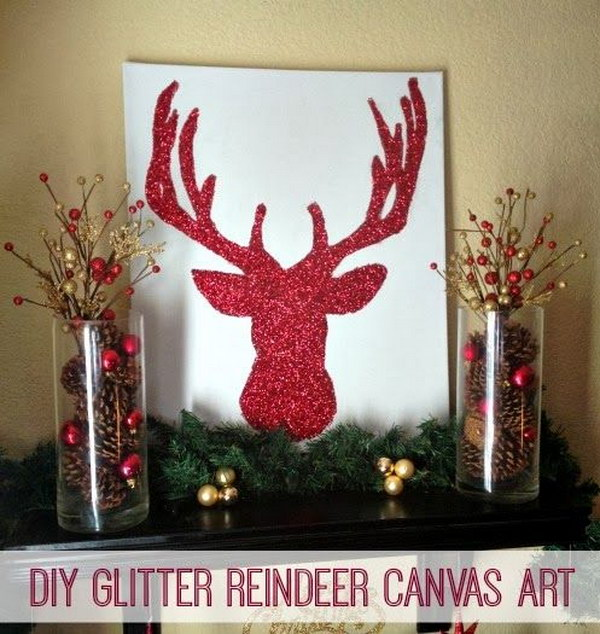 Creative Reindeer Inspired Crafts & Decorations for Christmas 2017