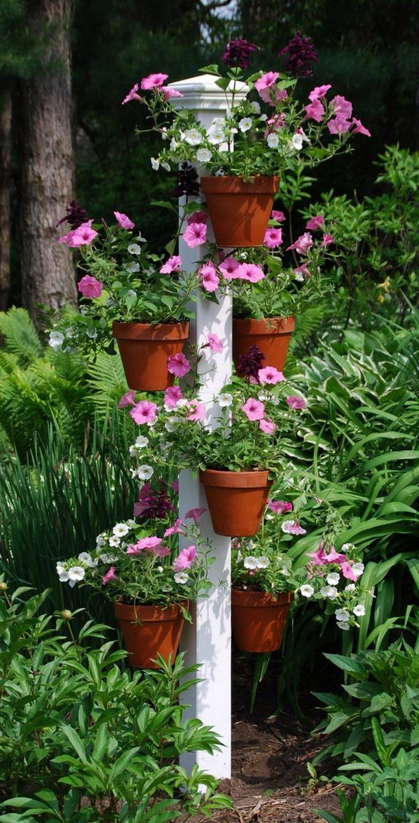 Creative Pot Hangers Vertical Garden