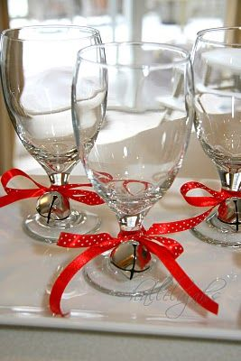 Cute Christmas Glass Decor.