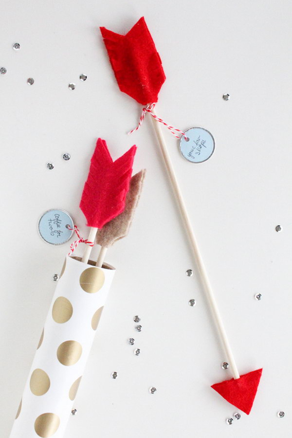 DIY Date Idea Arrows