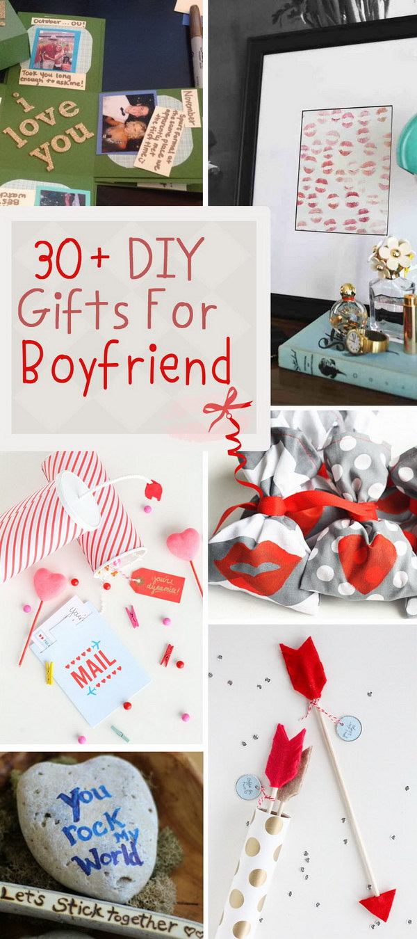 30+ DIY Gifts For Boyfriend 2017