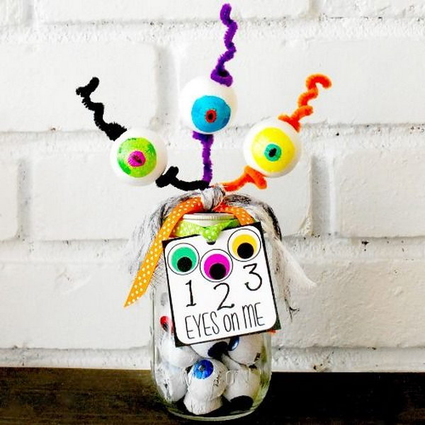 123 Eyes On Me Mason Jar Gift for Teacher.