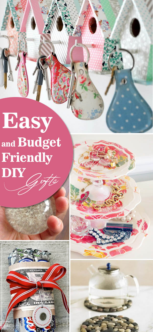 Easy Budget Friendly Spring Decorating: Easy And Budget Friendly DIY Gifts 2017