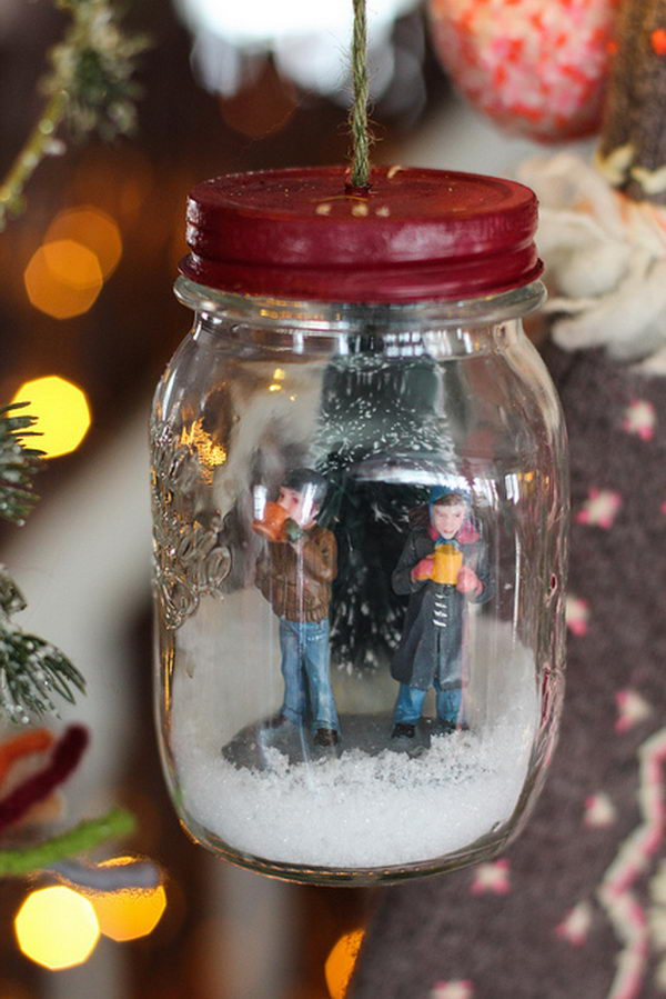 20 Beautiful Diy Snow Globe Ideas Amp Tutorials 2017