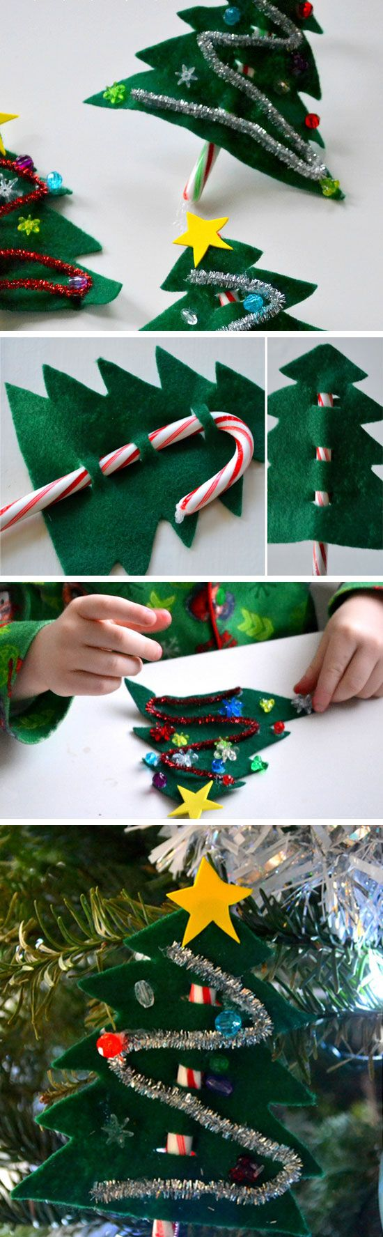 Candy Cane Christmas Trees.