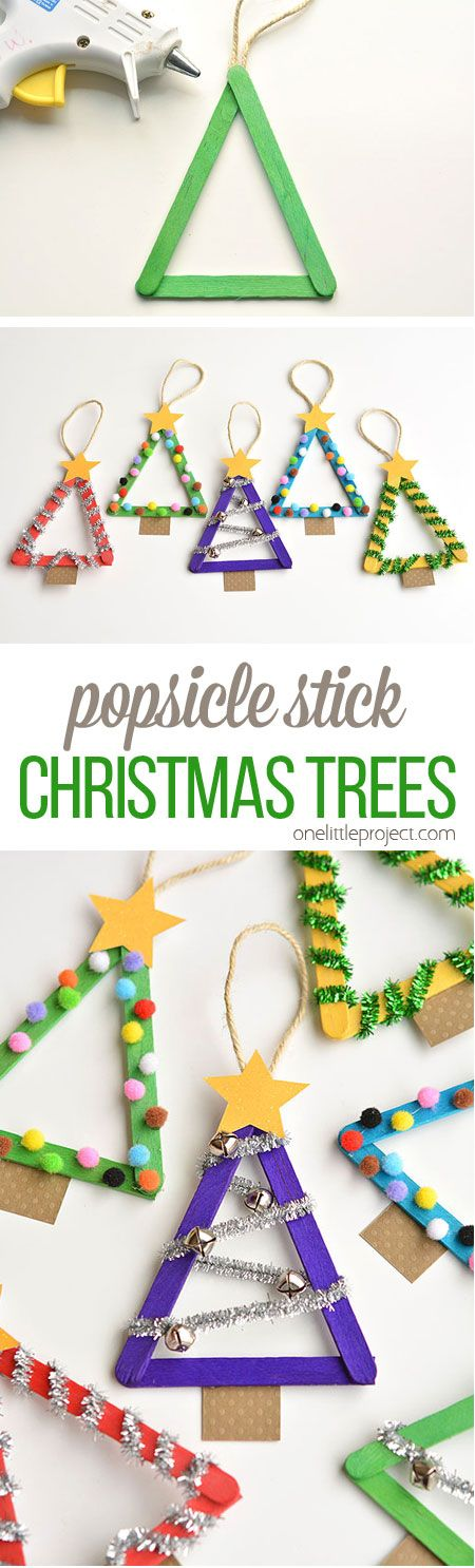 Easy And Cute Diy Christmas Crafts For Kids To Make 2017