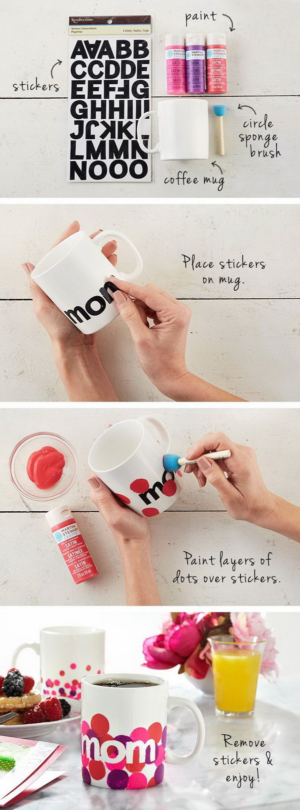 20 heartfelt diy gifts for mom 2017 Good ideas for christmas gifts for your mom