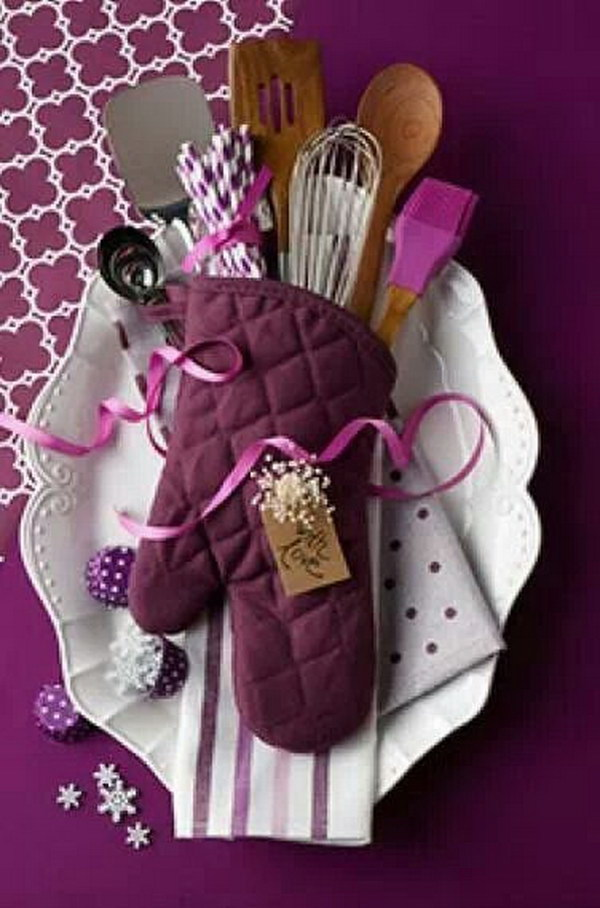 Kitchen Supplies in a Glove.